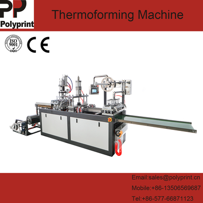 PVC PS Pet Materials Clamshell Box Hummus Bowl Thermoforming Machine Plastic Cup Lid Egg Tray Forming Making Machine