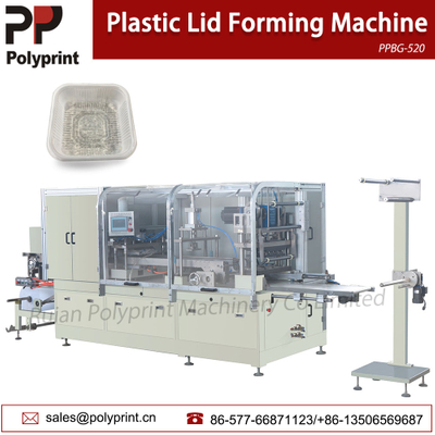 Automatic Disposable Food Container Egg Tray Plastic Cup Lid Thermoforming Machine