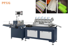 Biodegradable Paper Straw / Paja De Papel Forming Machine Automatic Drinking Straw Making Machine