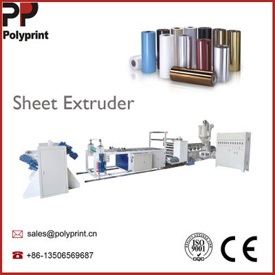 High Output Plastic PP/PS/PE Multi Layers Sheet Extruder Hydraulic Winder Plastic Sheet Extruding Machine for Disposable Products Making