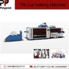 Fully Automatic Tilt Plastic Cup Drink Water Cup Thermoforming Machine for PP PS Pet Material
