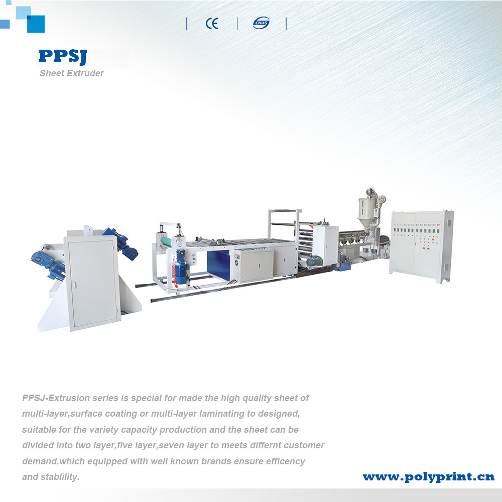 Customizable Single/Double Layer PP/PS Sheet Extrusion Line High Speed Plastic Sheet Extruder Machine
