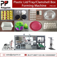 Automatic Plastic Blister Packaging Coffee Milk Tea Lid Food Containers Box Tray Forming Thermoforming Making Machine