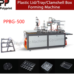 Professional Equipment Automatical Plastic PVC/PS/Pet Cup Lid Cup Cover Clamshell Box Thermoforming Machine